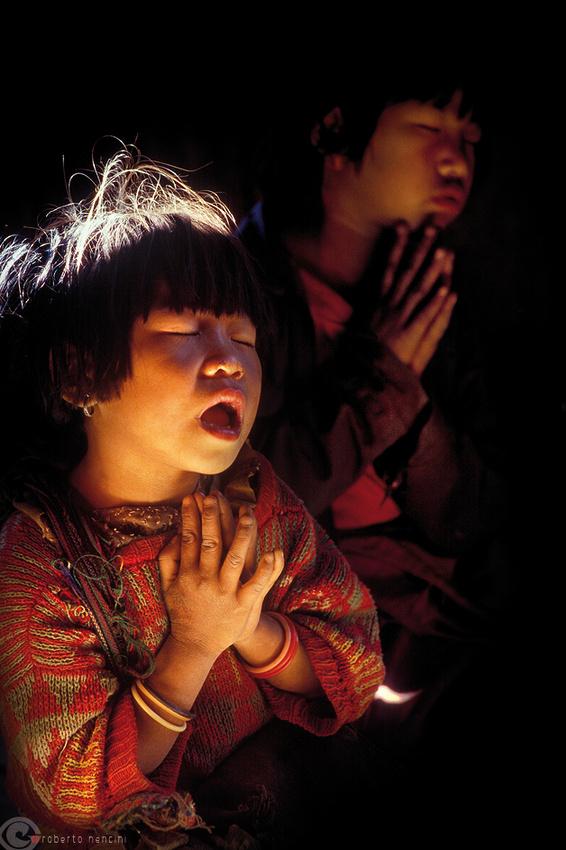 Stato dello Shan - Etnia Palaung, la Preghiera