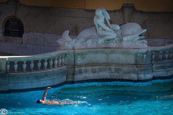 Bagni Termali Szechenyi : Roberto nencini thermae bagni termali széchenyi nuoto libero